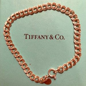 Tiffany & Co Authentic 925 Charm Bracelet Sterling